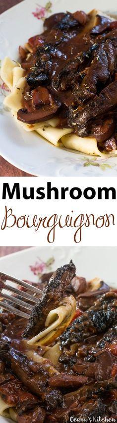Veggie Recipes, Beef Recipes, Whole Food Recipes, Vegetarian Recipes, Cooking Recipes, Healthy Recipes, Mushroom Recipes, Cooking Time, Healthy Meals