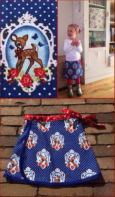 Wikkelrokje. Patroon: allemaal rokjes Wrapping skirt. Pattern: allemaal rokjes Maat/size: 2 jaar/years