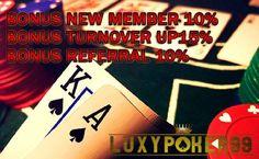 Daftar agen judi kartu online aman dan populer yaitu di luxypoker99 adalah sebuah situs yang menyediakan taruhan judi kartu online aman dan terpercaya.