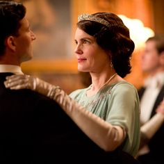 Downton Abbey's Best Fashion Moments - Cora Crawley, Countess of Grantham from InStyle.com