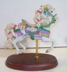 Lenox Carousel Horse 1993 Christmas Holiday Theme (I think this is mislabeled as 1993 as there is already a Christmas edition for that year)