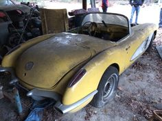 1958 Corvette, Barn Find