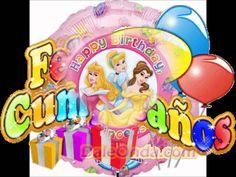 Feliz cumpleaños princesita!!! Princess Peach, Youtube, Happy Birthday, Amy, Character, Flower, Happy Birthday Grandson, Little Princess, Beautiful Body