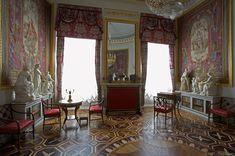 Grand Palais - Intérieur - Pavlovsk - Bibliothèque de Maria Feodorovna - Décoré par Vincenzo Brenna en 1793.
