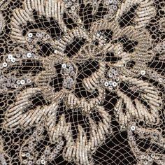 Broderie tip dantelă Ricamificio Levi Gold Work, Cod, Embroidery, Flowers, Needlepoint, Florals, Atlantic Cod, Drawn Thread, Flower
