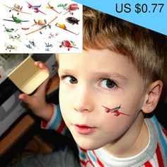 25 style Child Temporary Tattoo Body Art, Battle Planes Dusty Designs, Flash Tattoo Sticker Keep days Tattoo Flash, Health Shop, Temporary Tattoo, Planes, Tatoos, Henna, Body Art, Free Shipping, Stickers