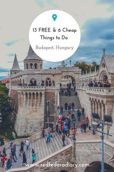 Want to visit Budapest on a budget? Here are 13 FREE and 6 cheap things to do in Hungary's capital via @redfedoradiary
