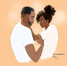 Welcome to Maison Nicholle Kobi Black Couple Art, Black Love Art, Black Girl Art, Black Couples, My Black Is Beautiful, Black Girl Magic, Art Girl, Beautiful Artwork, African American Art