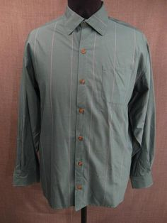 09015608 Shirt Men's 1940s, green windowpane wool, N18 Slv37.JPG