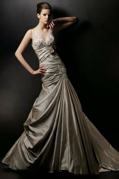 Brown Wedding Dresses for Autumn Wedding Party
