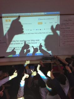 Co-blogging - grade 3 class - media/language