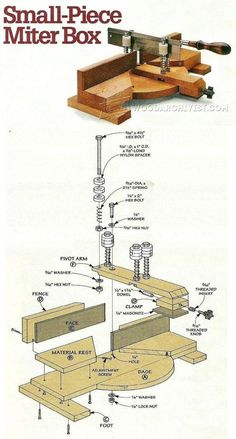 DIY Miter Box - Hand Tools Tips and Techniques | WoodArchivist.com