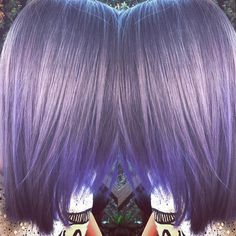 "37 Likes, 3 Comments - Kate Wilkinson 🌵✂️🖤 (@katewilkinsonhair) on Instagram: ""#lavender#silverhair #goodhairglamour #exhibition #art #trends #hairstyling #prescotthairstylist…"""