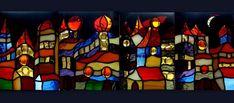 """Miasteczko...trochę fantazji, a trochę inspiracji twórczością Gaudiego i """"szalonymi"""" projektami Hundertwassera... The town ... a little fantasy, a little inspired by the works of Gaudi and """"crazy"""" projects Hundertwasser ..."""