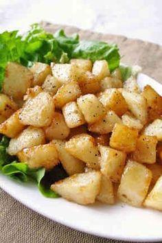 Teriyaki of Colo potatoes not stop Asian Recipes, Beef Recipes, Cooking Recipes, Healthy Recipes, Japanese Recipes, Easy Cooking, Healthy Cooking, Cafe Food, Potato Dishes