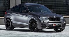 'Stealthy' BMW X4 de peso ligero tiene hasta 370hp