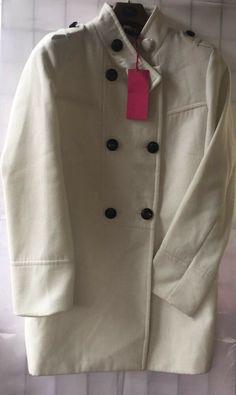6c8b281fb368c BNWT TG Cream Winter Double Breasted Coat Size 18 (L755)  fashion  clothing   shoes  accessories  womensclothing  coatsjacketsvests (ebay link)