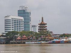 Sibu ist eine kleine Stadt in Sarawak, dem Teil von Borneo, der zu Malaysia gehört. Ein netter, unaufgeregter Ort, an dem Du durchatmen kannst.