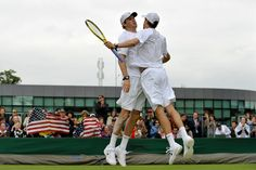 Chest Bumps Masters The Bryan Brothers!