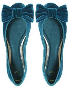 Asos  velvet bow flats $44.82 http://us.asos.com/ASOS-ASOS-LUXE-Velvet-Bow-Ballerina/tqa1q/?iid=1233520