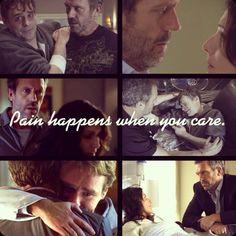 Pain happens when you care.