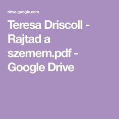 Teresa Driscoll - Rajtad a szemem.pdf - Google Drive Lynne Graham, Google Drive, Romance Books, Pdf, Italy Wedding, Reading, Romance Novels