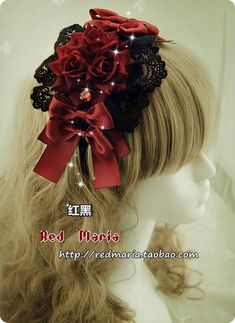 Red Maria black X red