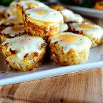 Eggs in Hash Brown Nests:These are the perfect little side dish for Easter Brunch: Tender-but-crispy potato nests with a luscious baked egg in the middle. They go perfectly with ham for a more substantial brunch, or they're great for a casual breakfast with a piece of bacon. Or two. Or three. Or nineteen.