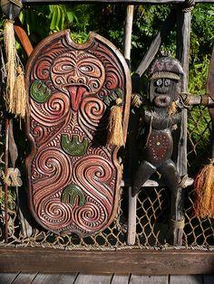 Disneyland, Adventureland entry gate, Tiki Room | Flickr - Photo Sharing!