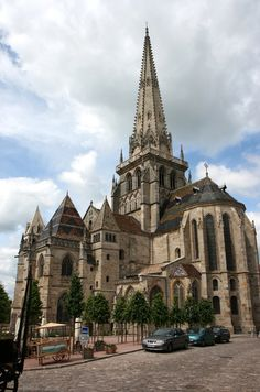 Autun ~ Burgundy ~ France ~ Saint Lazare Cathedral
