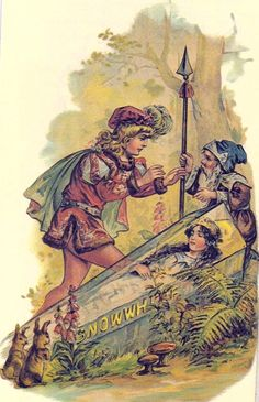 reprint of old Snow White book