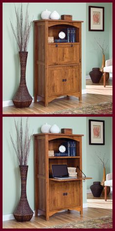 Sauder Laptop Cabinet from our Rose Valley Collection.