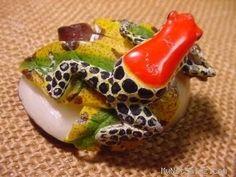 Wounaan Tribe Frog Tagua Carving Panana 3 52687 | eBay