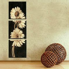 Sunflower 3 Piece Wall Art Set    **WORLDWIDE SHIPPING AVAILABLE**    Item Type: Print    Style: Flowers    Material: Canvas     Subject: Impressionist     Type: Canvas Printing     Shape: Square     Frame: With Frame or No Frame     Frame Sizes: 12cm x 12cm, 16cm x 16cm,  20m x 20cm, 24cm x 24cm | Shop this product here: http://spreesy.com/belladonnahomedecor/39 | Shop all of our products at http://spreesy.com/belladonnahomedecor    | Pinterest selling powered by Spreesy.com