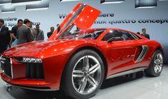 544 hp worth of twin-turbo diesel V10 Audi Nanuk Concept