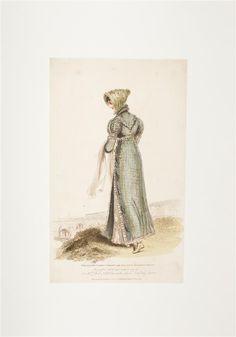 Modebild, Badekleid, 1814, kolorierter Kupferstich © Wien Museum Splish Splash, Summer Heat, Museum, Art, Fashion Pictures, Bathing, Figurine, Gowns, Art Background