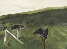 Andrew Newell Wyeth - Artist, Fine Art Prices, Auction Records for Andrew Newell Wyeth Andrew Wyeth Paintings, Andrew Wyeth Art, Jamie Wyeth, Artist Painting, Artist Art, Nc Wyeth, Value In Art, Watercolor Landscape, Landscape Paintings