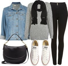 Untitled #362 by im-emma featuring high rise black jeans