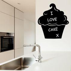 Cupcake - Chalkboard wall sticker | Noah's Art