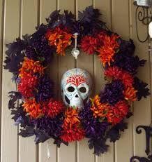 Resultado de imagen para puerta decorada dia de muertos