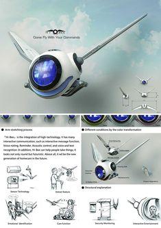 HiBee-concept - Spot Bot drone?