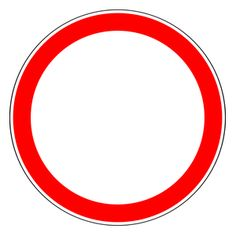 An overview of the prohibitory signs of Russia. Learn all traffic signs with the free practice questions. All Traffic Signs, Russia, Letters, This Or That Questions, Cars, Learning, Vehicles, Autos, Fonts