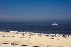 Jersey Shore - View from Ocean Place Resort & Spa, Long Branch NJ