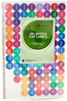 Oil Bottle Labels by Young Living - 1 set