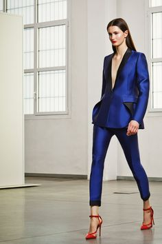 Antonio Berardi | Pre-Fall 2014 Collection | Look 5 love the shoes
