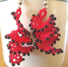Janemactats: Flamenco Earrings
