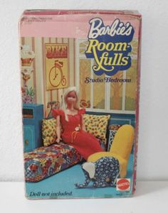 Barbie's Room Fulls Studio Bedroom Empty Box Hard to Find | eBay