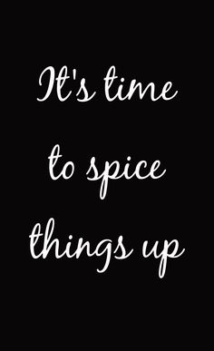 It's time to *SPICE* things up!!