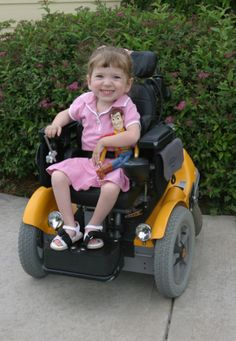 Lindsay has grown up in a wheelchair, but she hasn't let that stop her from being a normal 4th grader!