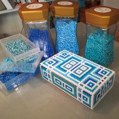 Box Hama beadsby ArtBYbeadS